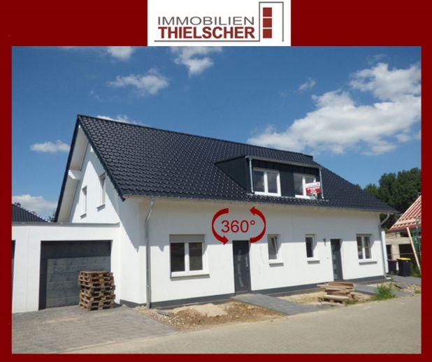 Neuerrichtete linke Doppelhaushälfte mit Garage *in Fertigstellung* - Provisionsfrei!
