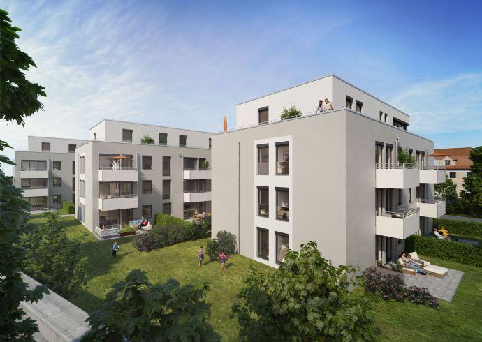 [Erstbezug] 3- Zimmer- Wohnung: Modernes Wohnen in ruhiger & zentraler Lage!