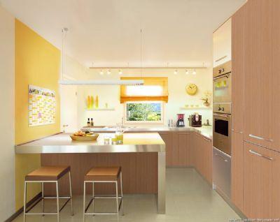 Küche abgeteilt