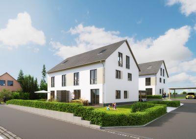 Große Doppelhaushalte - Neubau in Weisendorf