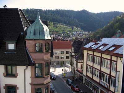 Blick zur Stadtmitte