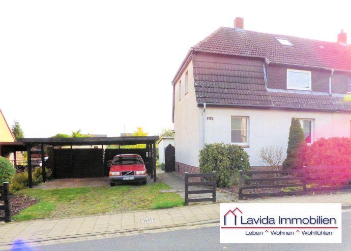 Doppelhaushälfte mit Traumgrundstück in Braunschweig - Lehndorf