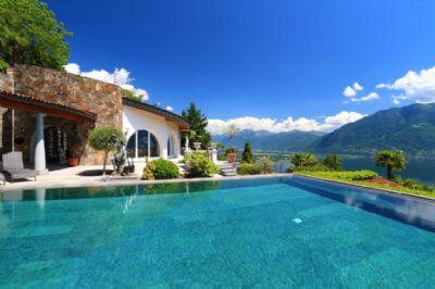 luxus der superlative mit g sterustico 206 villa brione sopra minusio 2ev6s4f. Black Bedroom Furniture Sets. Home Design Ideas