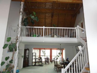 Wohnhaus_Wohnzimmer mit Galerie