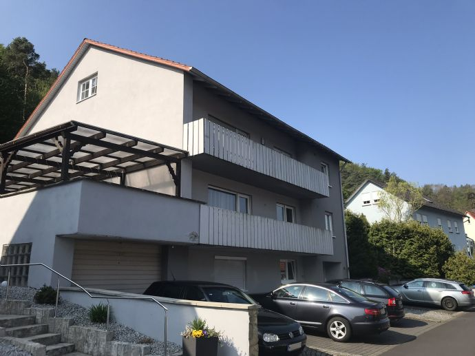 1,5-Zimmer DG Wohnung, direkt an der Natur, Ramsthal