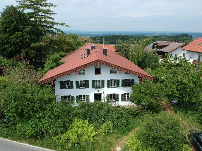 Historischer Teil eines denkmalgeschützten Bauernhauses