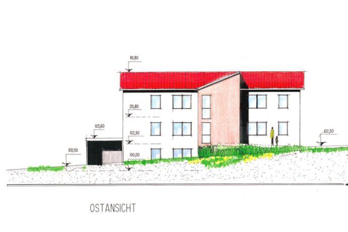 Friedewald Neubauvorhaben, 5 WE, noch zwei 3-Zi.-Whg. á 101,33 m² frei, ruhige aber zentrale Lage