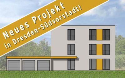 DD-Südvorstadt Dachgeschosswohnung in einem 3 Familienhaus KfW55 Aufzug elektr. Rollläden Keller Garage sowie Außenstellplatz uvm.