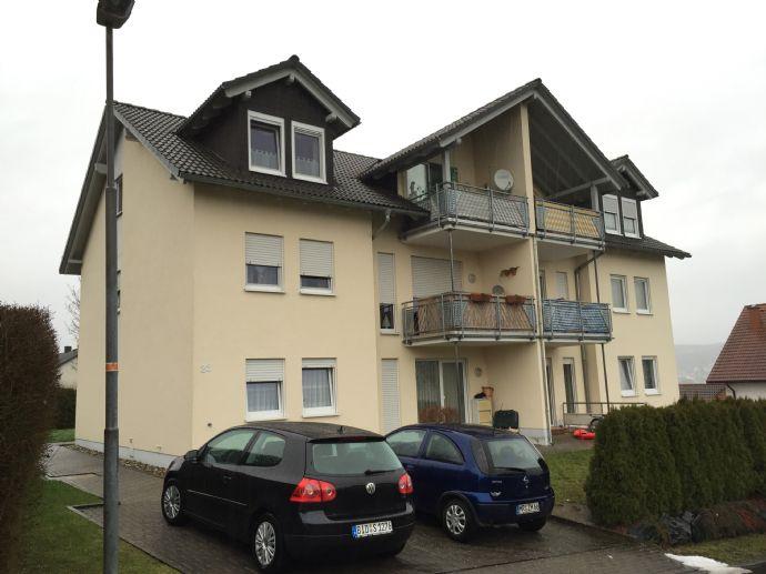 Schöne 2 ZKB-Wohnung in Dautphetal-Dautphe
