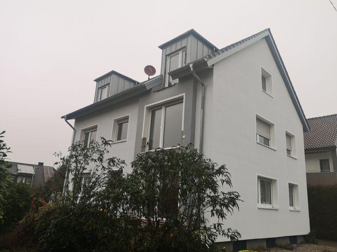 3-Zimmer-Wohnung mit 70 m² Wfl. im 1. Obergeschoss, Grosser Südbalkon,