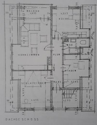 Erstbezug nach Sanierung! 3-Zimmer Wohnung in Stein zu vermieten