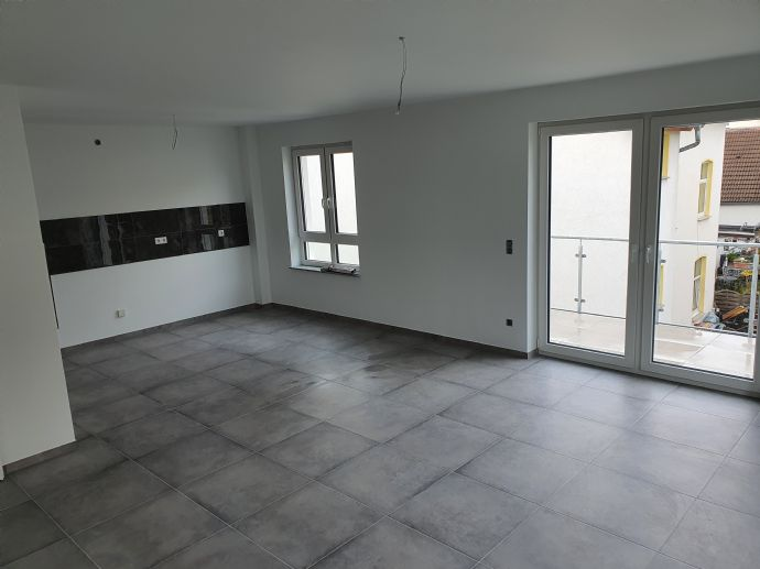 2 Zimmer-Wohnung mit Balkon, Keller und Stellplatz