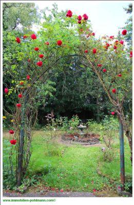 Rosentor zum Garten