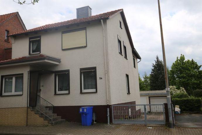 Seesen OT - Ein- bis Zweifamilienhaus mit Garage