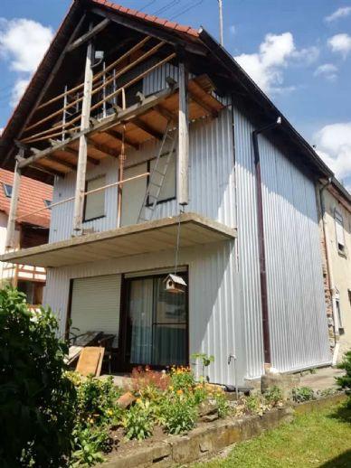 Gädheim - Platz für die Familie, ca. 180 qm mit Garten,Terrasse +Ausbau Möglichkeit!