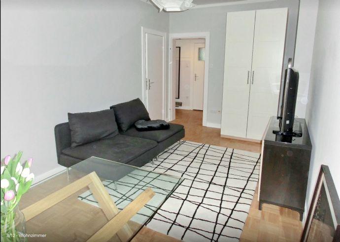 Top möblierte 2 Zimmer Wohnung mit Balkon/ WLAN/ Vollbad/ Uni Viertel/ ab sofort frei