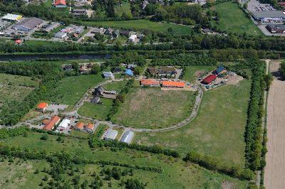 Luftbild Gewerbegebiet in Alt Mölln