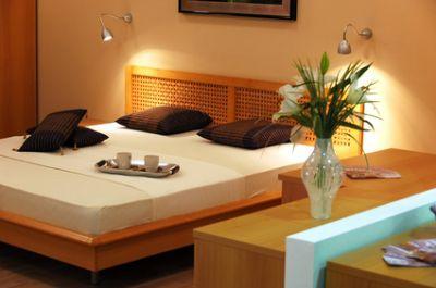 Einrichtungsmöglichkeit Schlafzimmer