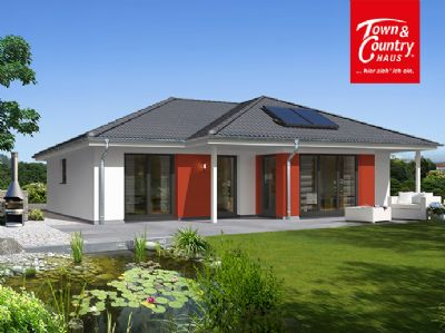 wohnkomfort im bungalow 128 haus bauen auf einer ebene einfamilienhaus 26lq44w. Black Bedroom Furniture Sets. Home Design Ideas