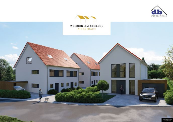 Doppelhaushälfte zum Verlieben | Wohnen am Schloss | Affaltrach