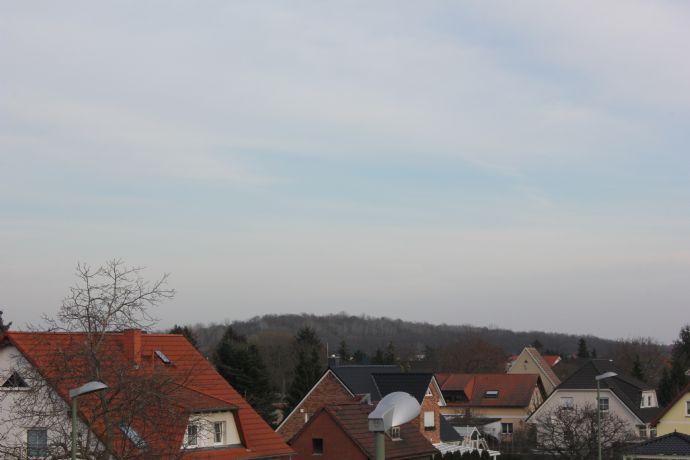 Blick über Biesdorf - Neubau - 3-Zimmer energieeffiziente Dachgeschosswohnung - Erstbezug