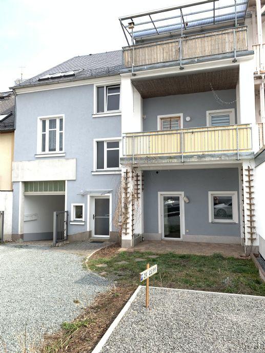 2-Raum-Wohnung im Erdgeschoß mit Terrasse im Stadtzentrum von Zeulenroda