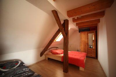 Der Schlafbereich mit Einrichtungsbeispiel