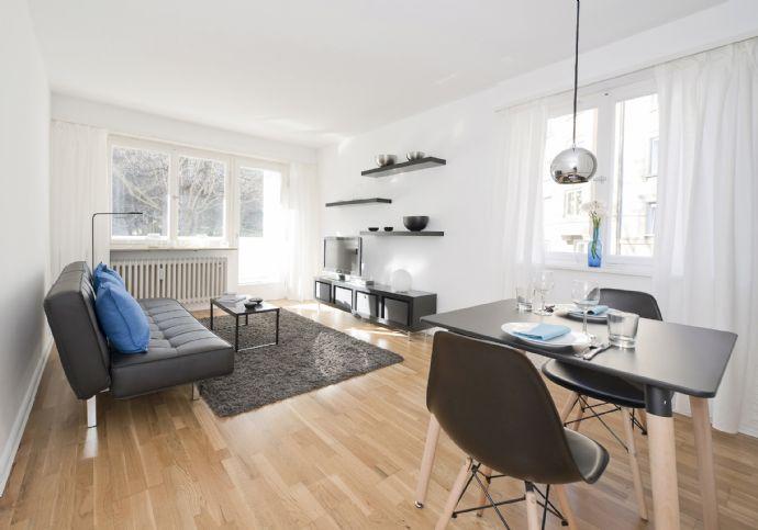 1-Zimmer-Wohlfühl-Apartment mit Balkon in Stuttgart West -