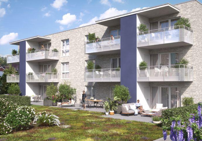 Neubau-Wohnung in begrünter Umgebung in Beckum