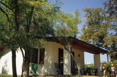 preiswerte familienfreundliche Unterkunft direkt am See - Feriendorf San Giorgio - Ferienhaus Tipo5-G (1245)