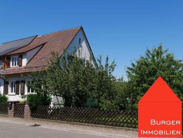 Das Potential. Eine DHH mit großem Garten in ruhiger Wohnlage von Wiernsheim