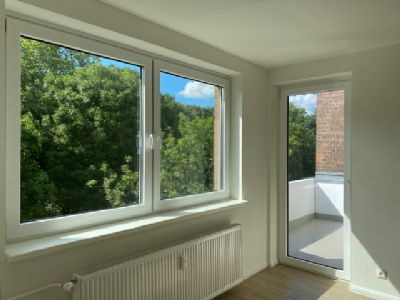 Top-Modernisierte Wohnung in ruhiger Lage mit Blick aufs Grüne