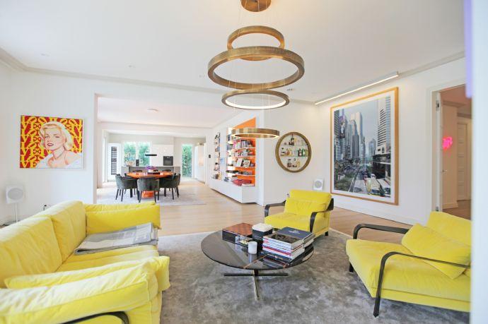 HEINRICH v. KÖLICHEN: Luxus über 3 Etagen trifft stilvolle Extravaganz in 1. Isar-Reihe, Herzogpark