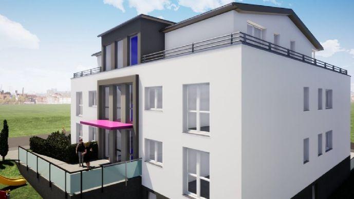 Erstbezug: Flussviertel: Attraktive 4 Zimmerwohnung mit Balkon und kleiner Terrasse - seniorengerech