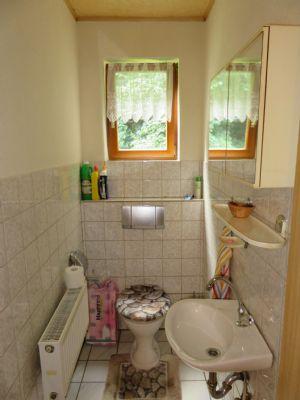 WC mit Fenster separat