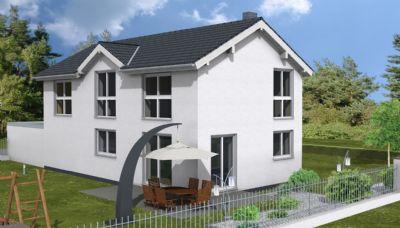 projektiertes kfw 70 haus ohne keller einfamilienhaus fischbachtal odenw 273v34f. Black Bedroom Furniture Sets. Home Design Ideas