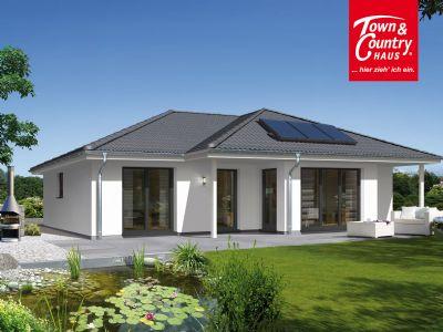 bungalow bauen eleganter wohnkomfort auf einer ebene. Black Bedroom Furniture Sets. Home Design Ideas