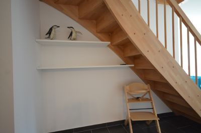 4  unter der Treppe wohnen Kalle + Pingo