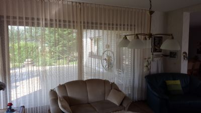 Wohnzimmer - Blick Richtung Terrasse