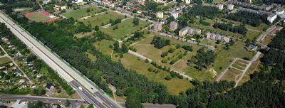Luftbild Gewerbegebiet Hegelstraße