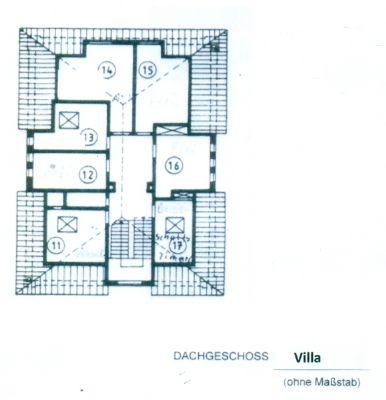 Dachgeschoss nur Villa