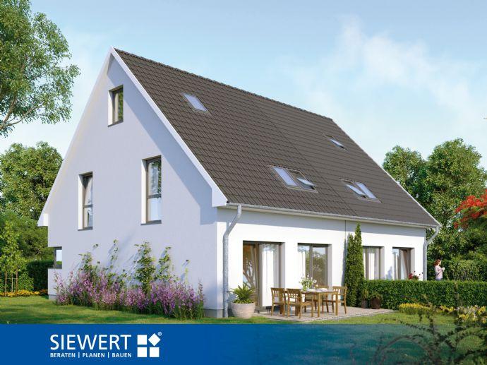 Moderne Doppelhaushälfte Mit Großem Wohn Und Essbereich