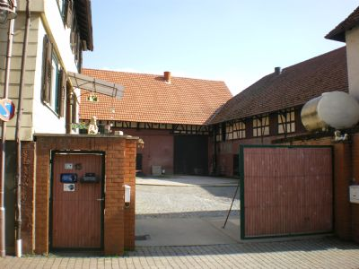 Hofzufahrt