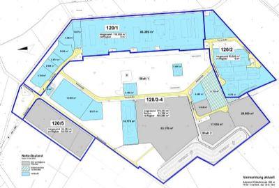 Baufeld 120/5 und freie Flächen
