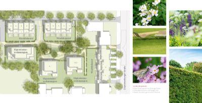 Lageplan und Grünflächenkonzept Charlott N°6