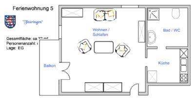 Haus Anneliese - Wohnung Thüringen oder Nordrhein-Westfalen