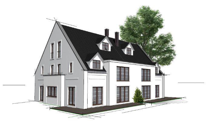 Großzügige Doppelhaushälfte mit luxuriöser Austattung in bester Lage von Rissen fußläufig vom Elbstrand Haushälfte Nr. 1