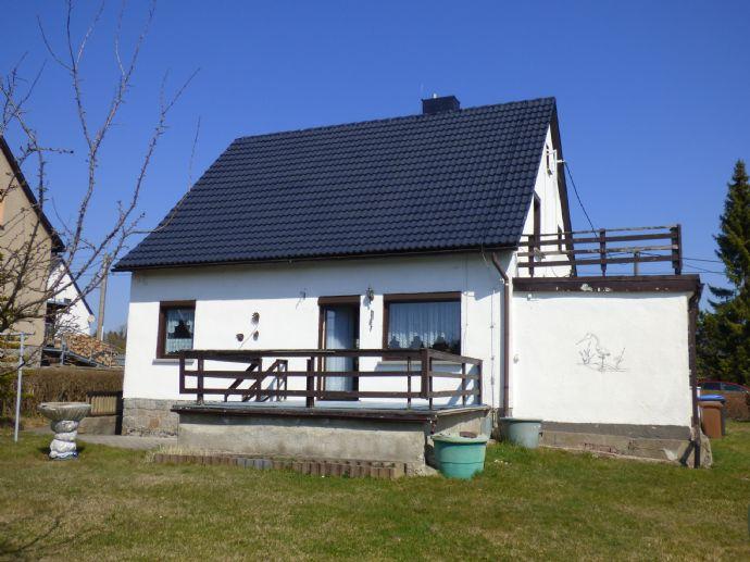 Einfamilienhaus im Ortsteil von Sebnitz