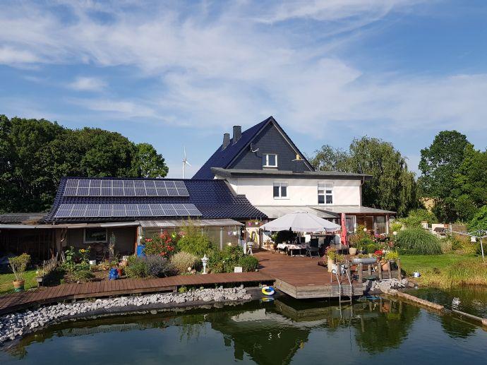 Schönes, ruhiges und gepflegtes Anwesen für Individualisten vor den Toren Paderborns mit viel Potenzial!!!