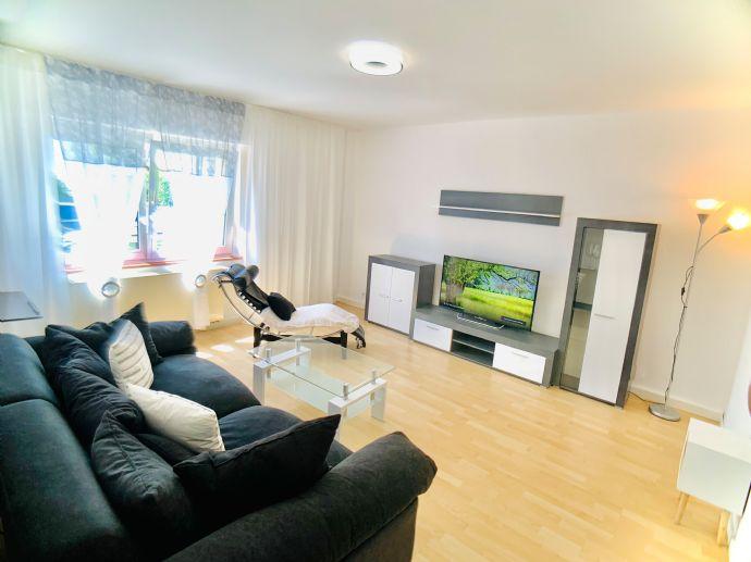 Schöne, möblierte 2-Zi.-Erdgeschoss Wohnung in Eschborn zu vermieten